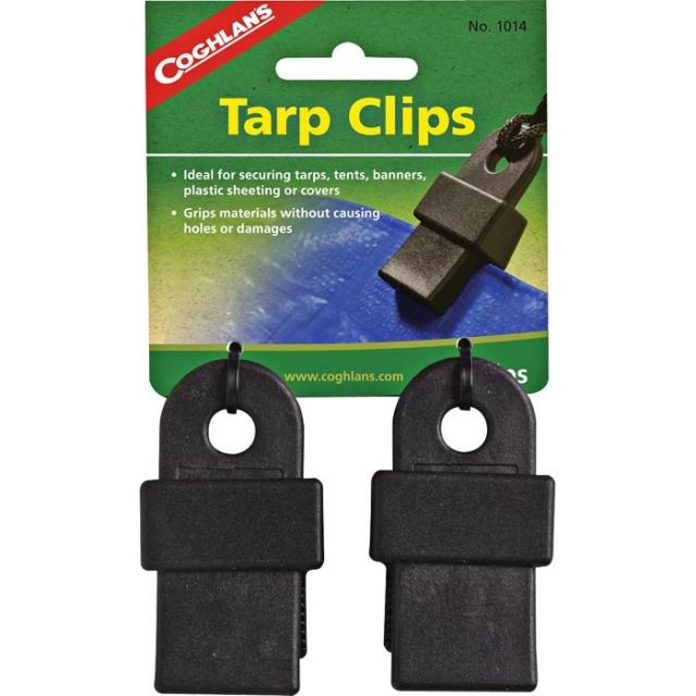 photo: Coghlan's Tarp Clips tent accessory