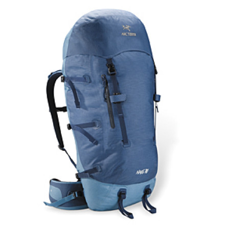 photo: Arc'teryx Naos 70 weekend pack (3,000 - 4,499 cu in)