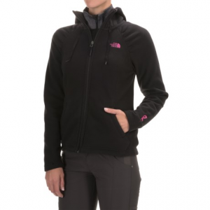 photo: The North Face Pink Ribbon Mezzaluna Hoodie fleece jacket