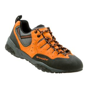 photo: evolv Stryker approach shoe