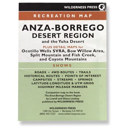 Wilderness Press Anza-Borrego Desert Region