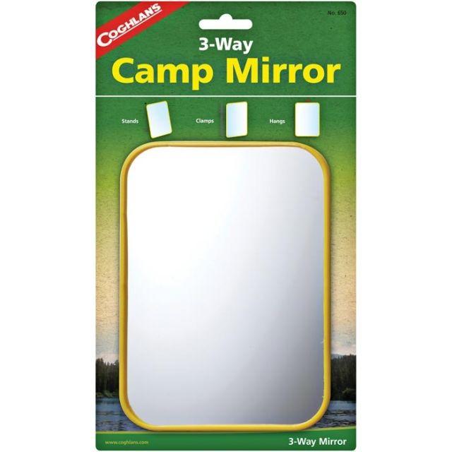 Coghlan's 3 Way Camp Mirror