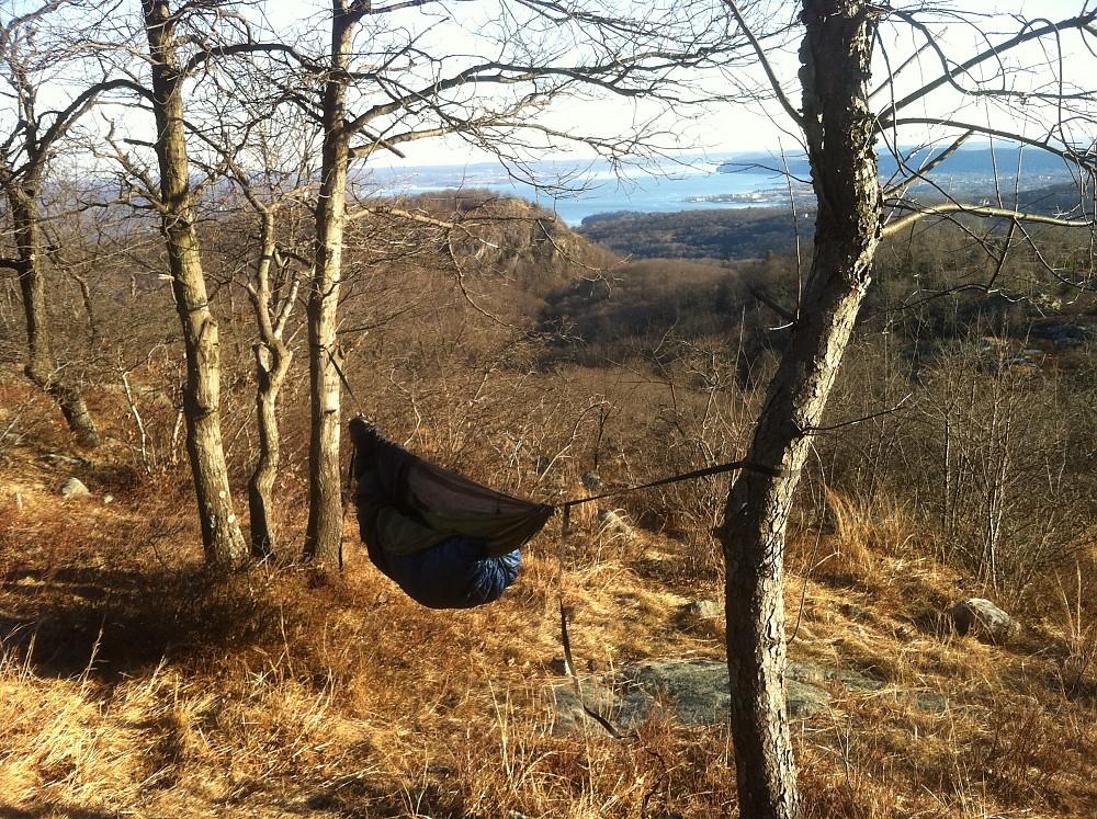 photo: myDIYgear Winter Sock hammock accessory
