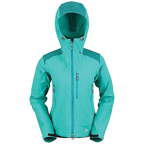 photo: Rab Women's Scimitar Jacket soft shell jacket