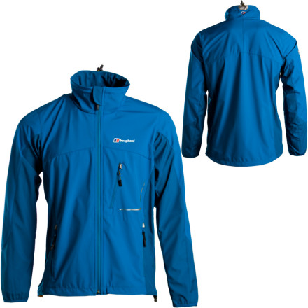 photo: Berghaus Sella Windstopper Jacket soft shell jacket