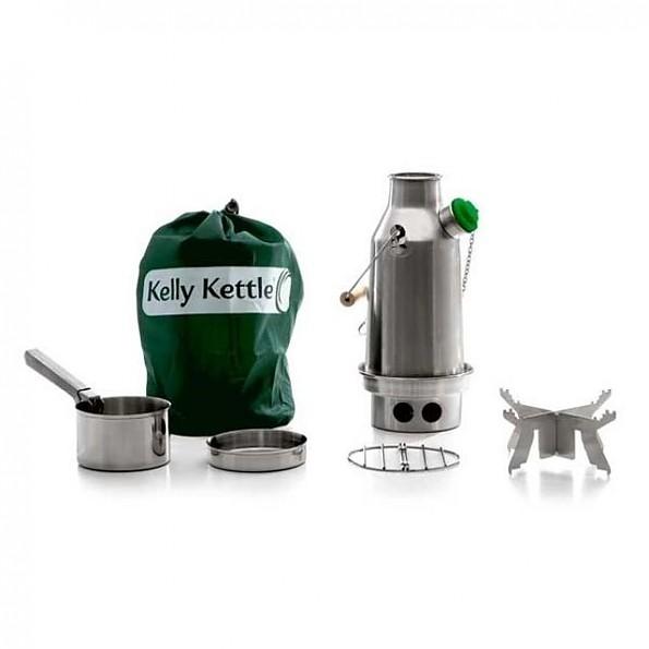 Kelly Kettle Stainless Trekker Small Kelly Kettle
