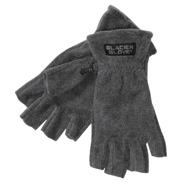 photo: Glacier Glove Fingerless Glove fleece glove/mitten