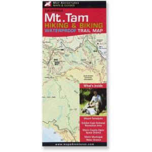 photo: Map Adventures Mt. Tam Hiking and Biking Waterproof Trail Map us pacific states paper map