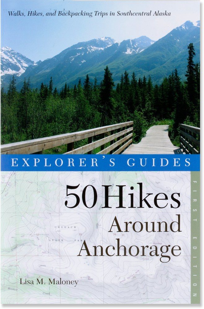 photo: Countryman Press 50 Hikes Around Anchorage us pacific states guidebook