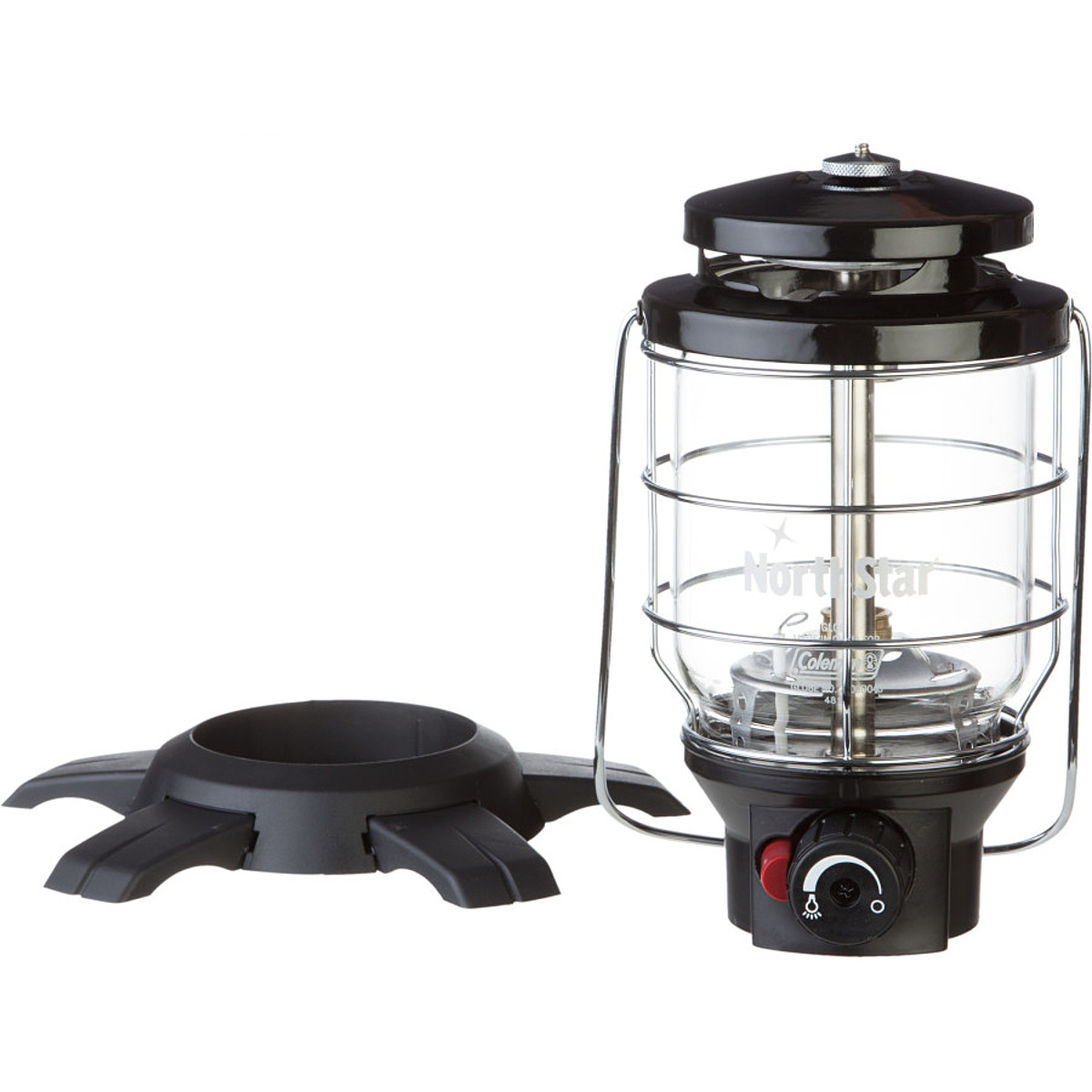 photo: Coleman NorthStar Electronic Ignition Propane Lantern fuel-burning lantern