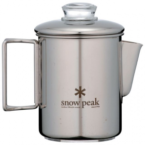 photo: Snow Peak Stainless Coffee Percolator coffee press/filter