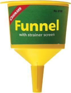 photo: Coghlan's Filter Funnel stove accessory