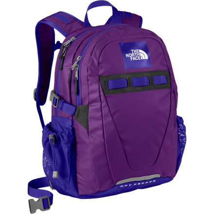 photo: The North Face Base Camp Hot Pepper daypack (under 2,000 cu in)