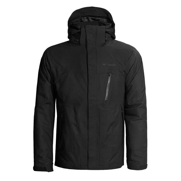 photo: Columbia Lezoosh Jacket component (3-in-1) jacket