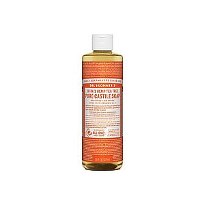 photo: Dr. Bronner Tea Tree Liquid Soap soap/cleanser