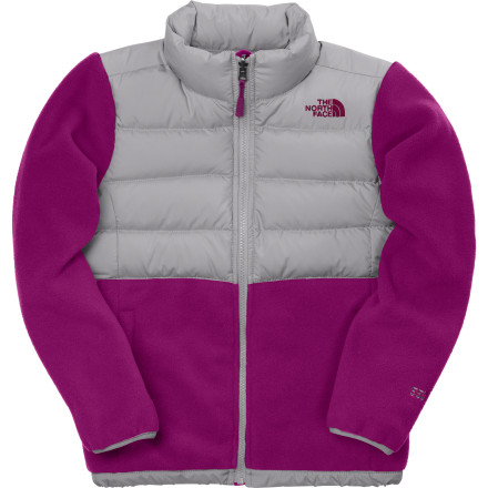 photo: The North Face Girls' Denali Down Jacket down insulated jacket
