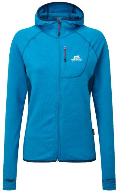 photo: Mountain Equipment Women's Eclipse Hooded Zip-T fleece top