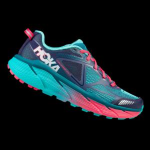 photo of a Hoka trail running shoe