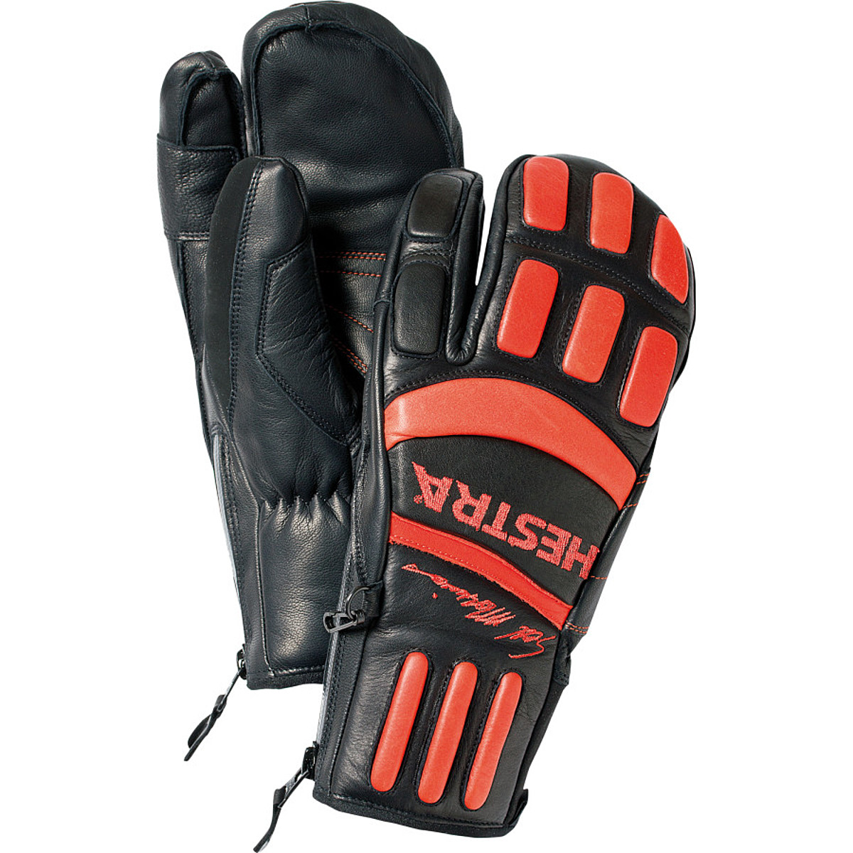 photo: Hestra Seth Morrison 3-Finger Pro insulated glove/mitten