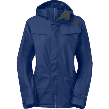 photo: The North Face Women's Decagon Jacket snowsport jacket