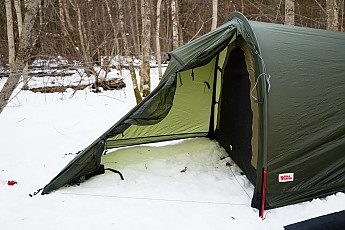 The inner storage abilities of Abisko Lite 3 are also very good. Each of three occupants has a pair of side pockets a larger and smaller one. & Fjallraven Abisko Lite 3 Reviews - Trailspace.com
