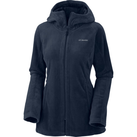 photo: Columbia Benton Springs Hoodie fleece jacket