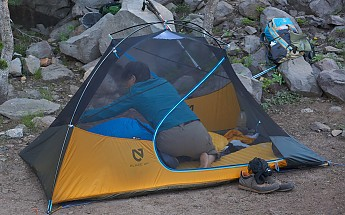 Just back from a 4-day trip with this tent and Iu0027m very impressed. The main plus very roomy one of the few UL tents which says itu0027s 2P and can actually be ... & NEMO Blaze 2P Reviews - Trailspace.com