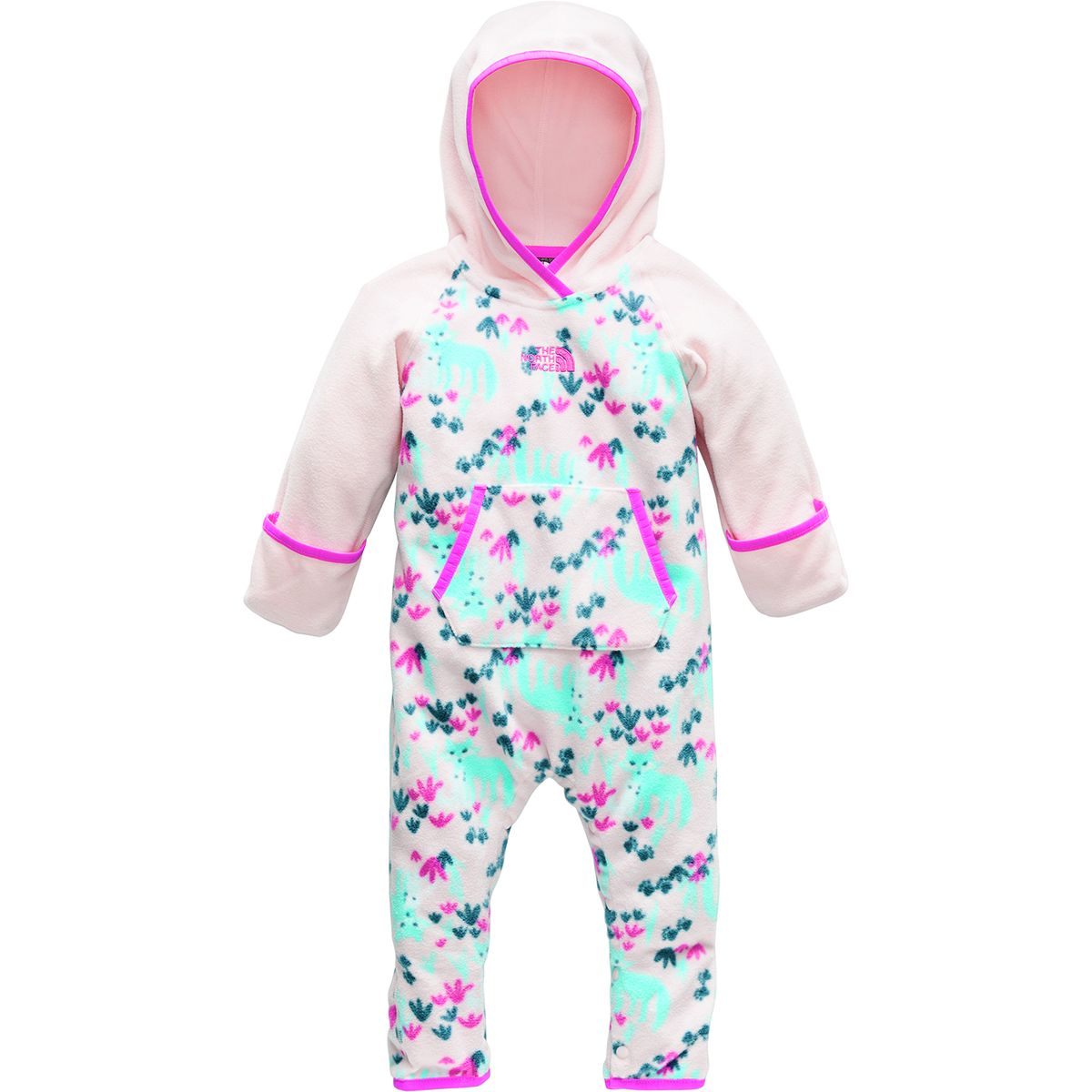 photo: The North Face Glacier Suit kids' snowsuit/bunting
