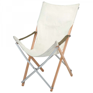 photo: Snow Peak Take! Bamboo Long Back Camp Chair camp chair