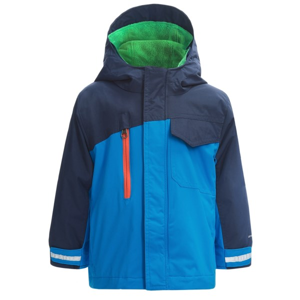 photo: Columbia Ice Slope Interchange component (3-in-1) jacket