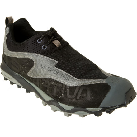 photo: La Sportiva Crossleather trail shoe