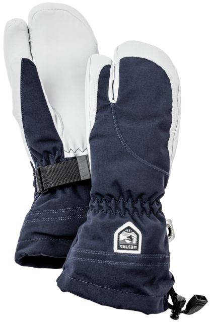 photo: Hestra Women's Heli 3-Finger Glove insulated glove/mitten