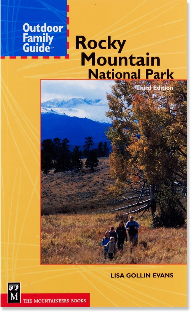 photo: The Mountaineers Books Outdoor Family Guide: Rocky Mountain National Park us mountain states guidebook