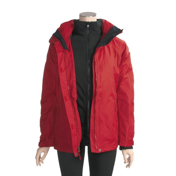 photo: Columbia Pioneering Peak Parka component (3-in-1) jacket