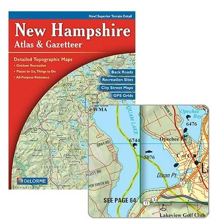 DeLorme New Hampshire Atlas and Gazetteer