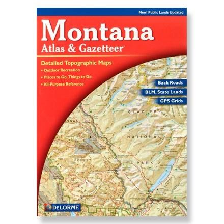 DeLorme Montana Atlas and Gazetteer