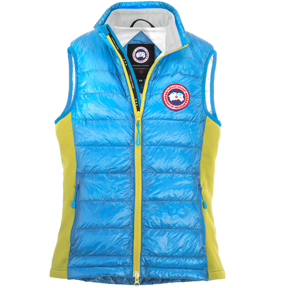 photo: Canada Goose Women's HyBridge Vest down insulated vest