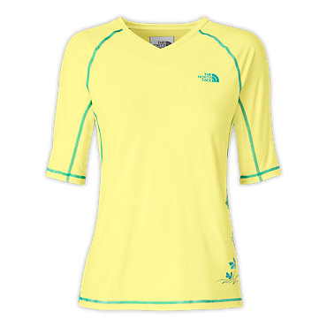 photo: The North Face Echo Lake High V-Neck short sleeve performance top