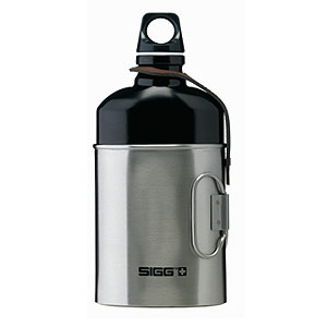 SIGG Oval Bottle with Cup 0.6 Liter