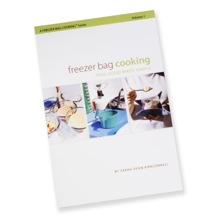 photo: Bay Street Publishing Freezer Bag Cooking Volume 1: Trail Food Made Simple cookbook