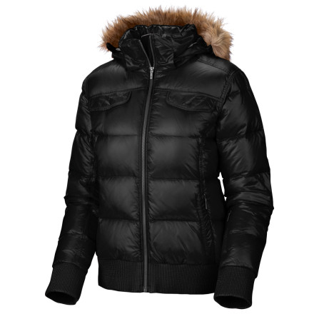 photo: Columbia Uptown Voyager Jacket down insulated jacket