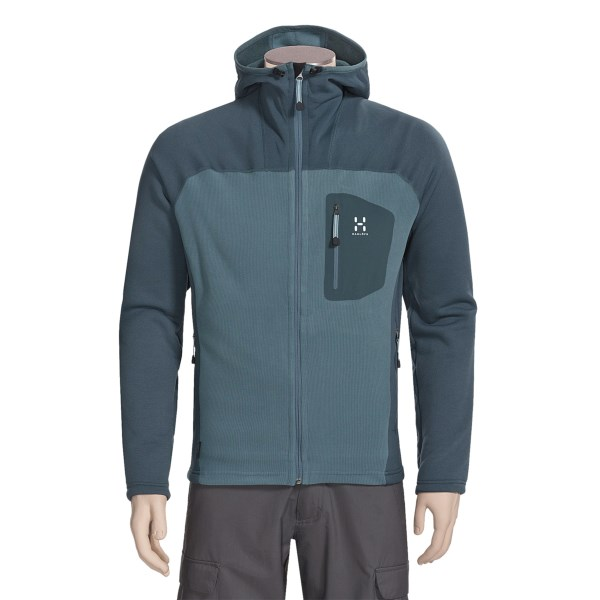 photo: Haglofs Treble Hood fleece jacket