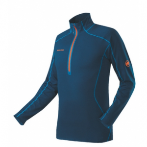 photo: Mammut Moench Zip Pull fleece top