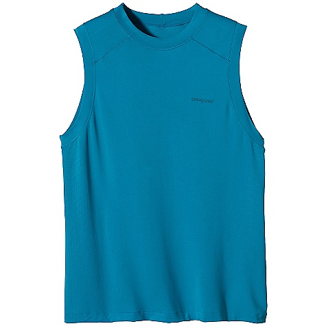 photo: Patagonia Gamut Sleeveless Shirt short sleeve performance top