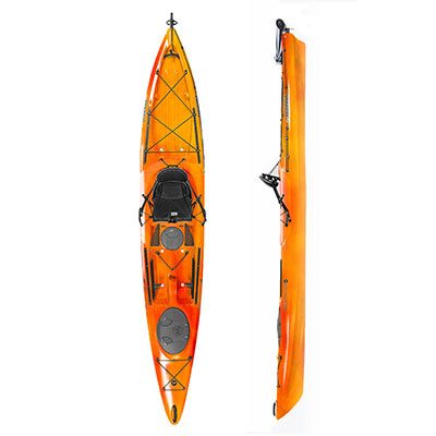 photo: Wilderness Systems Tarpon 140 Angler fishing kayak