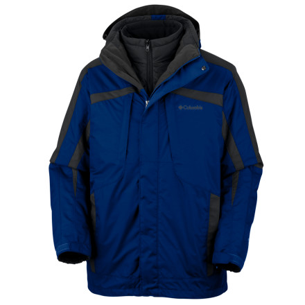 photo: Columbia Whirlibird Parka component (3-in-1) jacket