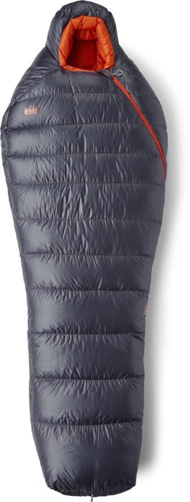 photo: REI Magma 10 3-season down sleeping bag