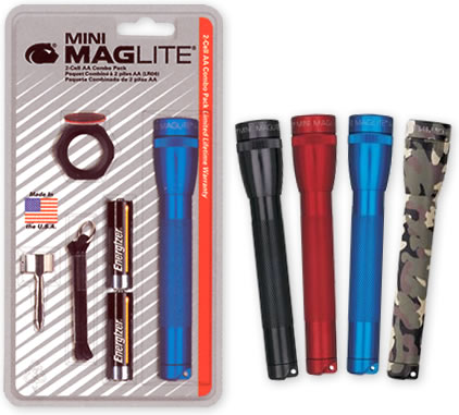 photo: Maglite AA Combo Pack flashlight