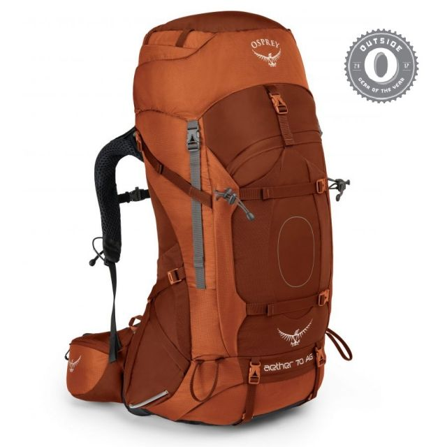 photo: Osprey Aether 70 weekend pack (50-69l)