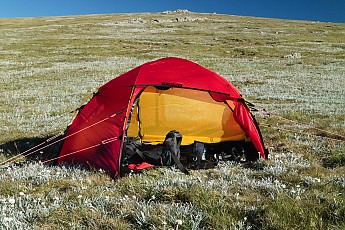As soon as I saw this tent pitched I knew it was the  business . Itu0027s a Hilleberg Red label tent which is 4-seasons. There is an Arctic Black Label version ... & Hilleberg Allak Reviews - Trailspace.com
